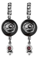Platadepalo WOMAN - Earrings Silver