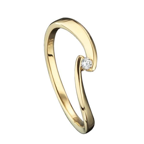 Ring Brilliant 585 Karat
