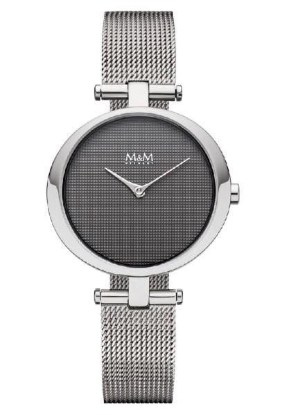 M&M Damen-Armbanduhr Ring O Analog Quarz