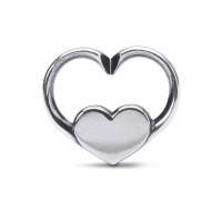 X Jewellery Love is - Silber Doppellink