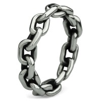 Ohm Ring Chained