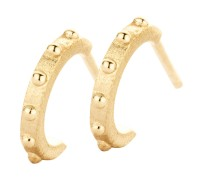 Spirit Icons - Spike Studs - Yellow Gold
