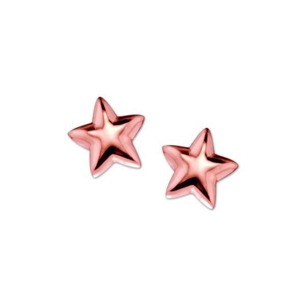 Myns Ohrstecker Star Rosé