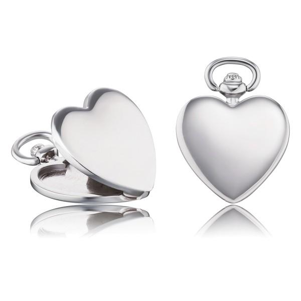 Anhänger Timelsee Herz Silber rhodiniert