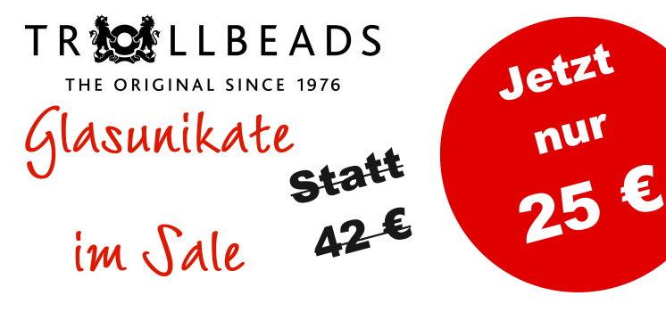 Trollbeads Glasunikate Sale